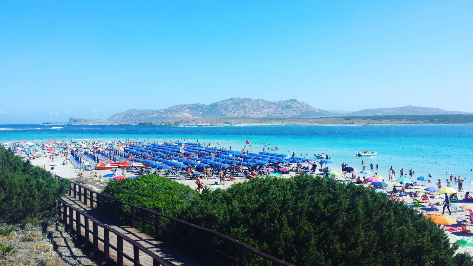 O plajă de vis! Stintino ,, Spiaggia La Pelosa''-Sardinia, Italia. 1