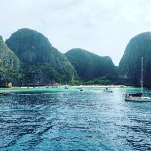 Încă o poveste din Thailanda! Monkey Beach, Maya Bay, Phi Phi Island.