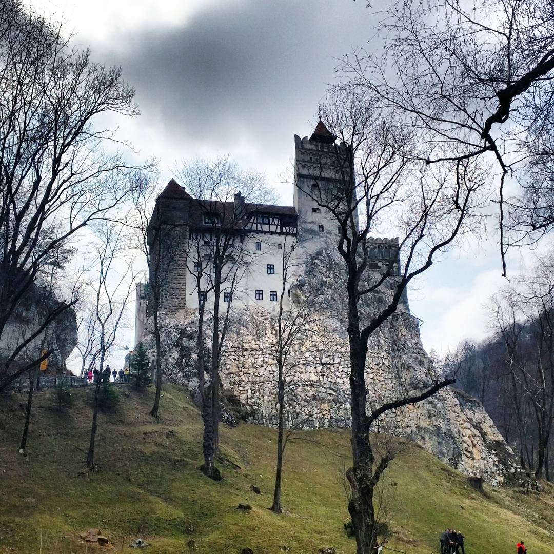 Bran Castle, Transylvania, Romania- Legandary home of Vlad The Impaler or Dracula.